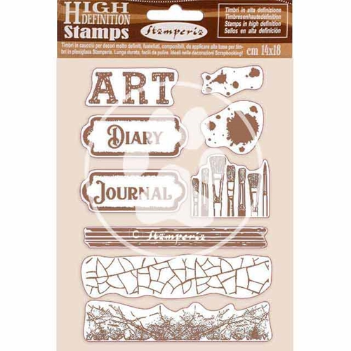 Stamperia ATELIER DES ARTS ART Cling Stamps wtkcc199 Preview Image
