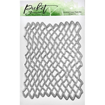 Picket Fence Studios NETTING COVER PLATE Die pfsd172