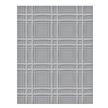 SES 018 Spellbinders Embossing Folder PLAID COMPANY