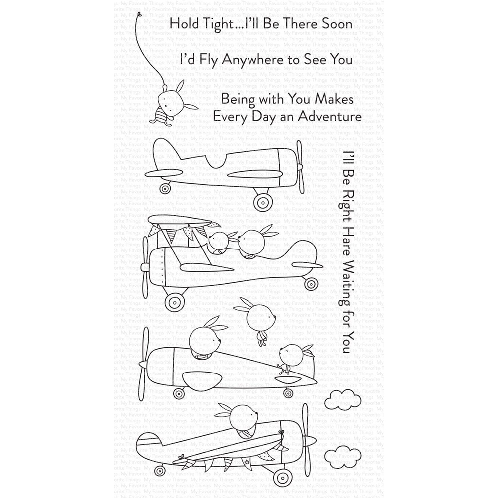 My Favorite Things HIGH-FLYING ADVENTURE Clear Stamps cs557 zoom image