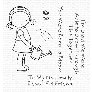 Pure Innocence GROW TOGETHER Clear Stamps pi318