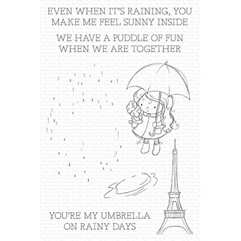 My Favorite Things RAINY DAY FRIENDS Clear Stamps ram009