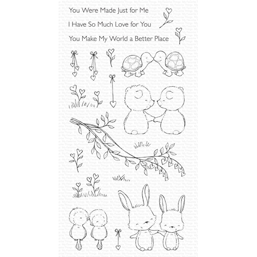 My Favorite Things BEING WITH YOU Clear Stamps sy30* Preview Image