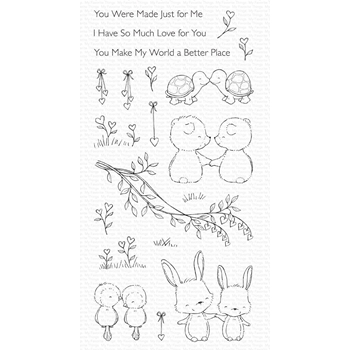 My Favorite Things BEING WITH YOU Clear Stamps sy30