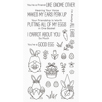 My Favorite Things SPRING GNOMES Clear Stamps bb121