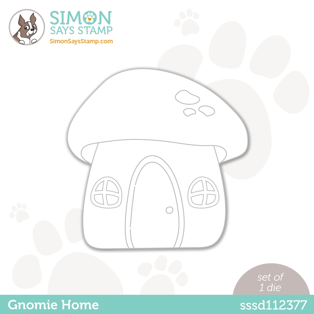 Simon Says Stamp GNOMIE HOME Wafer Dies sssd112377 zoom image
