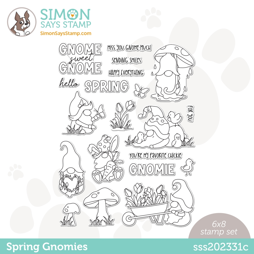 Simon Says Clear Stamps SPRING GNOMIES sss202331c zoom image
