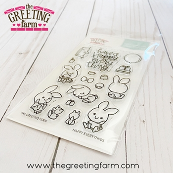 The Greeting Farm HAPPY EVERYTHING Clear Stamps tgf582