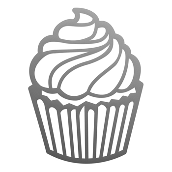 Couture Creations SWIRLING CUPCAKE Mini Die co728114