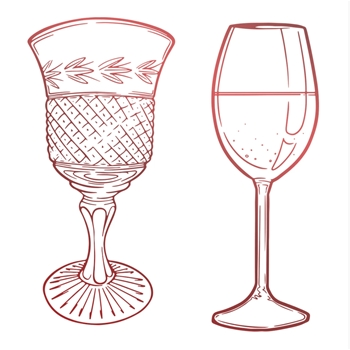 Couture Creations GLASSWARE Mini Clear Stamp co728121