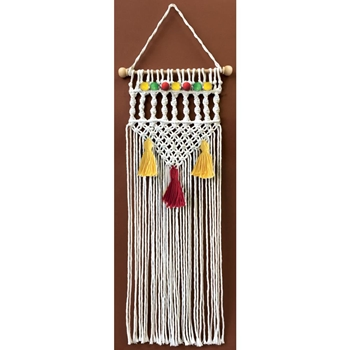 Zenbroidery NATURAL TWIST Macrame Wall Hanging Kit dw4460