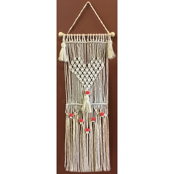 Zenbroidery HAVE A HEART Macrame Wall Hanging Kit dw4461