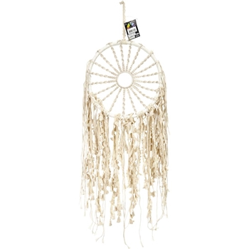 Midwest Design BRAIDED SUN Macrame Wall Hanging 76172