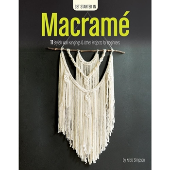Leisure Arts GET STARTED IN MACRAME Book la69702