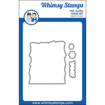 Whimsy Stamps BLENDING IN Outline Die WSD529