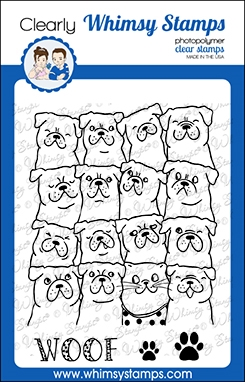 Whimsy Stamps BLENDING IN Clear Stamps CWSD370 Preview Image