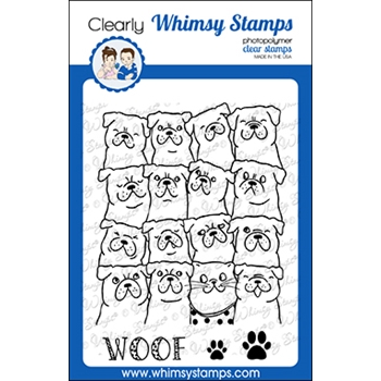 Whimsy Stamps BLENDING IN Clear Stamps CWSD370