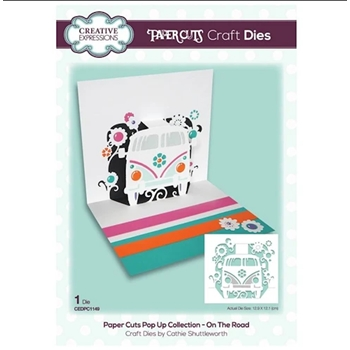 Creative Expressions ON THE ROAD Paper Cuts Pop Up Die cedpc1149