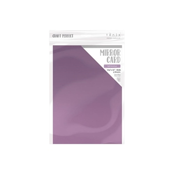 Tonic SOFT AMETHYST Mirror Card Satin Cardstock 9495e