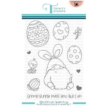 Trinity Stamps GNOME BUNNY Clear Stamp Set tps114