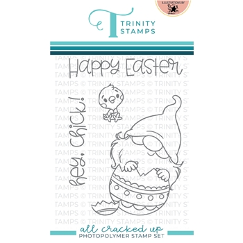 Trinity Stamps ALL CRACKED UP Clear Stamp Set tps116
