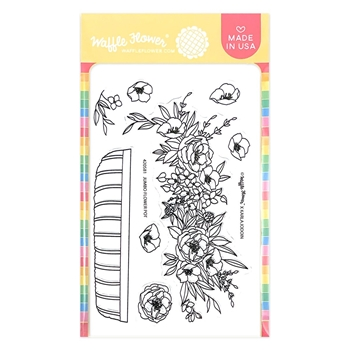 Waffle Flower JUMBO FLOWER POT Clear Stamps 420581