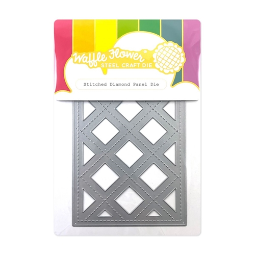 Waffle Flower STITCHED DIAMOND PANEL Die 420588 Preview Image