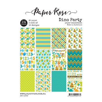 Paper Rose DINO PARTY Paper Pack 21756*