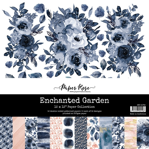 Paper Rose ENCHANTED GARDEN 12x12 Paper Pack 21762 ** Preview Image