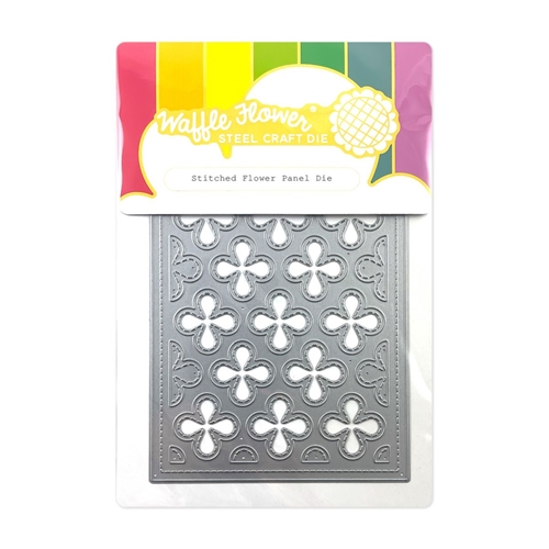 Waffle Flower STITCHED FLOWER PANEL Die 420590 Preview Image