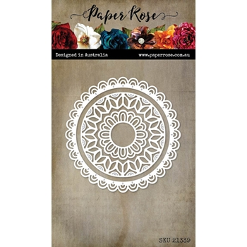 Paper Rose EVELYN CIRCLE Dies 21339