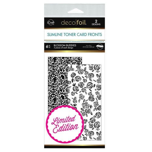 Therm O Web Limited Edition Deco Foil BLOSSOM BUDDIES White Slimline Toner Sheets 5614 Preview Image