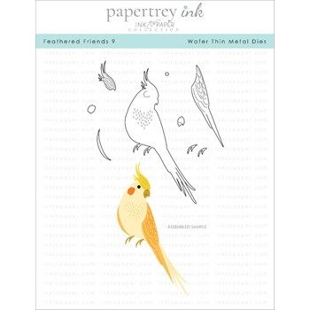 Ink to Paper FEATHERED FRIENDS 9 Dies ITP259