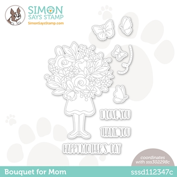 Simon Says Stamp BOUQUET FOR MOM Wafer Dies sssd112347c All The Feels