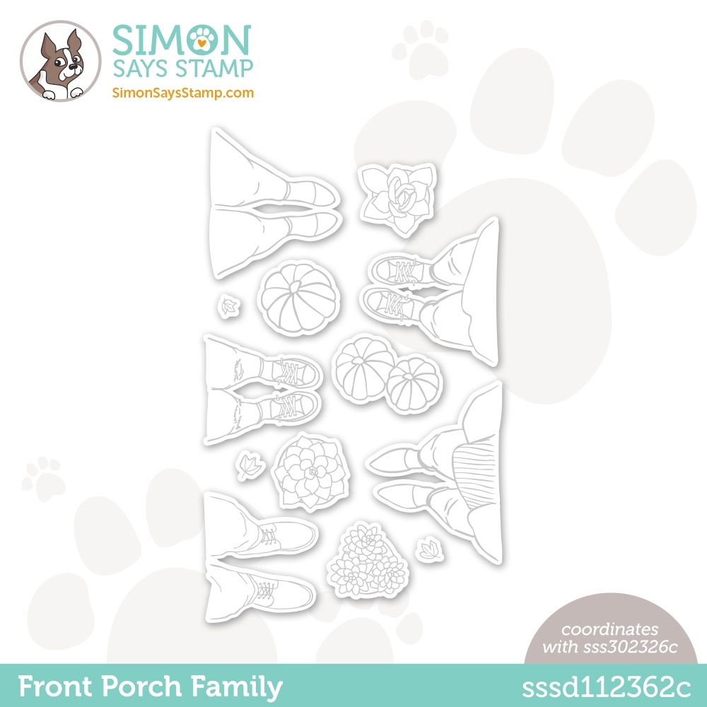 Simon Says Stamp FRONT PORCH FAMILY Wafer Dies sssd112362c All The Feels zoom image
