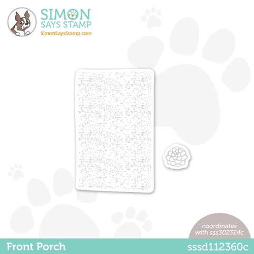 Simon Says Stamp FRONT PORCH Mat Wafer Dies sssd112360c All The Feels Preview Image
