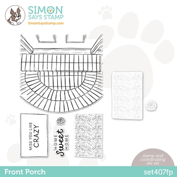 Simon Says Stamps and Dies FRONT PORCH set407fp All The Feels