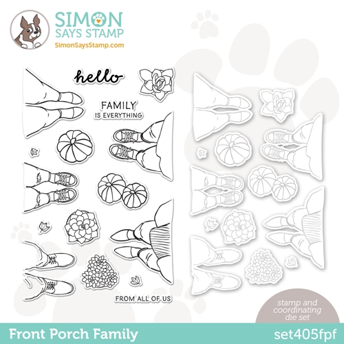 Simon Says Stamps and Dies FRONT PORCH FAMILY set405fpf All The Feels Preview Image