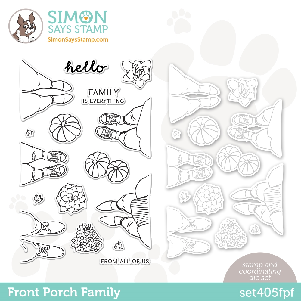 Simon Says Stamps and Dies FRONT PORCH FAMILY set405fpf All The Feels zoom image