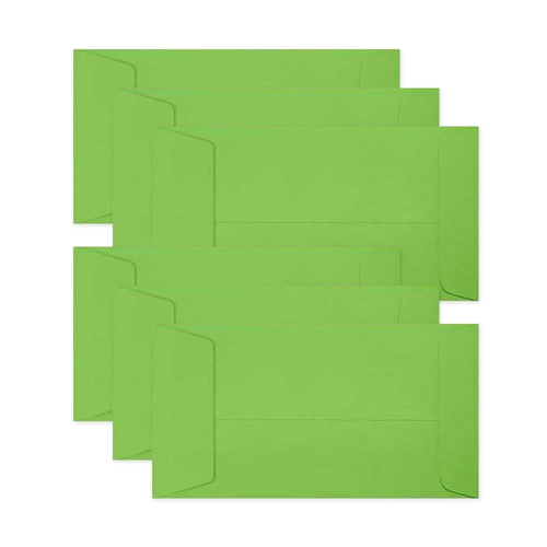 Simon Says Stamp Envelopes MINI SLIMLINE BRIGHT GREEN Open End sss86 All The Feels Preview Image