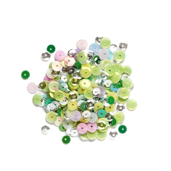 Simon Says Stamp Sequins GREEN MEADOWS gm0321 All The Feels