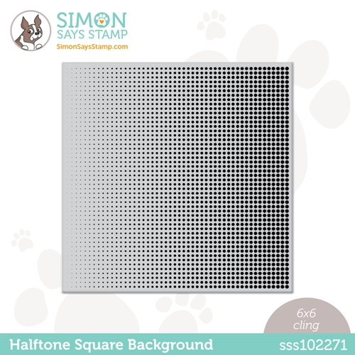 Simon Says Cling Stamp HALFTONE BACKGROUND sss102271 All The Feels Preview Image