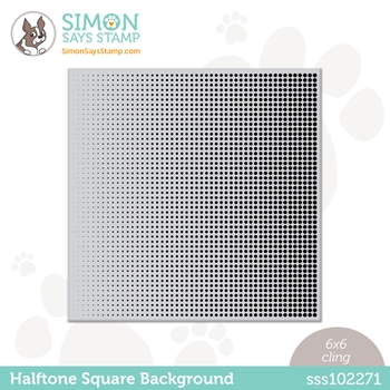 Simon Says Cling Stamp HALFTONE BACKGROUND sss102271 All The Feels