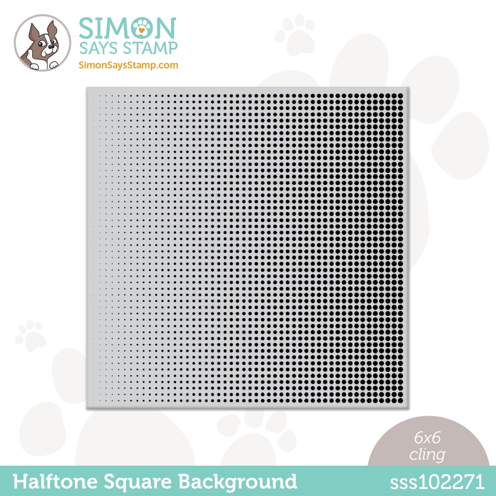 Simon Says Cling Stamp HALFTONE BACKGROUND sss102271 All The Feels zoom image
