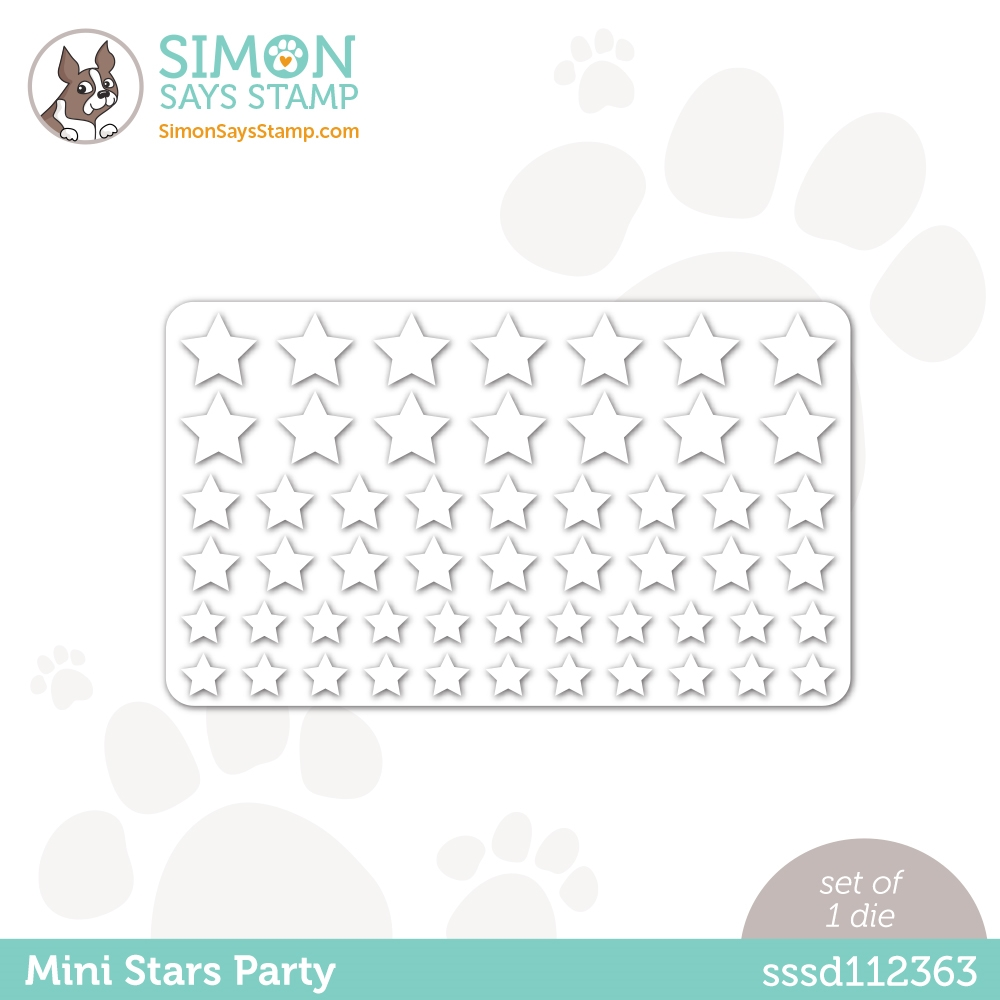 Simon Says Stamp MINI STARS PARTY Wafer Die sssd112363 All The Feels zoom image