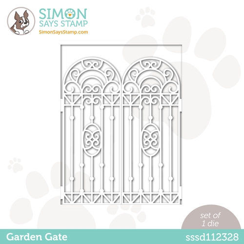 Simon Says Stamp GARDEN GATE Wafer Die sssd112328 All The Feels Preview Image