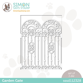 Simon Says Stamp GARDEN GATE Wafer Die sssd112328 All The Feels