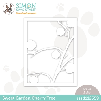 Simon Says Stamp SWEET GARDEN CHERRY TREE Wafer Die sssd112359 All The Feels