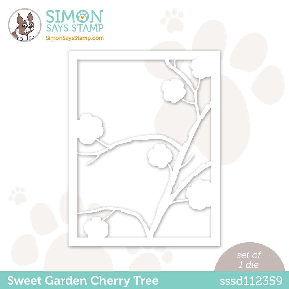 Simon Says Stamp SWEET GARDEN CHERRY TREE Wafer Die sssd112359 All The Feels zoom image