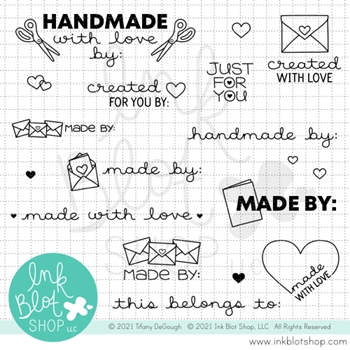 Ink Blot Shop Clear Stamp Set MADE FOR YOU inbl108